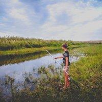 На рыбалке :: Юлиана Мещерякова
