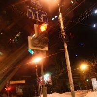 Зимние дороги  города... :: Валерия  Полещикова