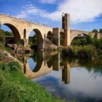 Бесалу. Римский мост. :: Тиша