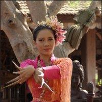Тайский танец :: Наталия Григорьева
