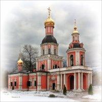 Троицкая церковь, 1708—1709. Москва. :: Александр Назаров