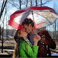 Солнечный, весенний дождь :: Наталья Rosenwasser