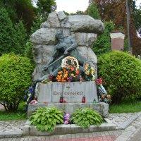Могила  Ивана  Франко  в  Львове :: Андрей  Васильевич Коляскин
