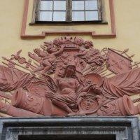 Летний дворец Петра I. Минерва, окруженная военными трофеями :: Елена Павлова (Смолова)