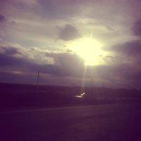 Понравился вид из окошка маршрутного такси :: Valeriya Voice