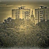 Городской пейзаж. Охрана. :: Григорий Кучушев