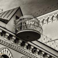Дом Кекина(круглый балкон). :: александр мак mak