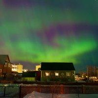 Северное сияние заглянуло в гости...)) :: Владимир Хиль