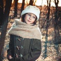 девочка в лесу :: мария