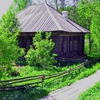 деревенский дом на Урале 19 в. :: petyxov петухов