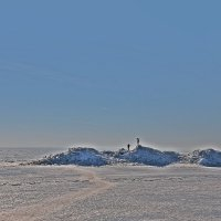 Мартовское безмолвие Финского залива...... :: Tatiana Markova