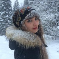 Девушка зимой :: Иван Замечательная