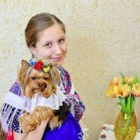 Настя и Фифа :: Катерина Терновая