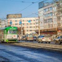 Старый трамвай. :: Сергей Щелкунов