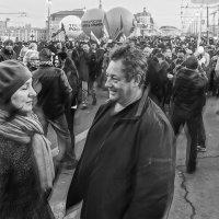 Крым наш. Годовщина. Встреча. :: Алексей Окунеев