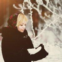 Прогулка в зимнем лесу. :: Александр Лихачев