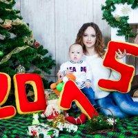новогодний фотосет с сыночком :: Мария Александрова
