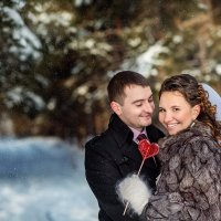 Зимняя свадьба :: Юлия Пономарева