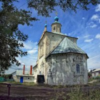Церковь Рождества Пресвятой Богородицы в Михайлове :: Марина Назарова