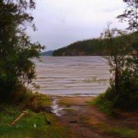 гляжу в озёра синие... :: Ольга Cоломатина