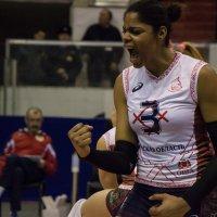 Спортивный репортаж. Волейбол. :: Марина