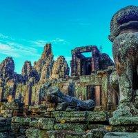 Камбоджа. Храм Байон.XII век. :: Rafael