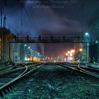Train Station Landscape :: MIkael Aslanyan