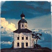 Заброшенная церковь 1973 :: Цветков Виктор Васильевич