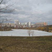 Весенние облака :: Людмила Монахова