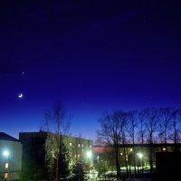 Очаровательный пейзаж виден по вечерам из моего окна :: Ольга Осовская