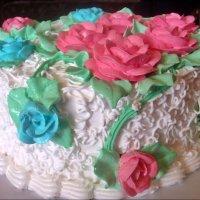 Именинный тортик :: Нина Корешкова