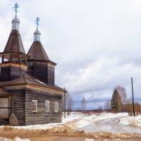 Деревянная церковь. Каргополь. Россия :: Дмитрий Бачтуб