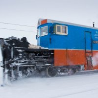 Борьба со снегом :: Константин Ольховка