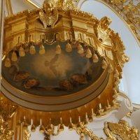 Большая церковь. Кафедра (фрагмент) :: Елена Павлова (Смолова)