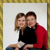 Мать с дочерью. :: Александр Фоткин