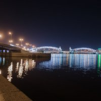 Большеохтинский мост :: Nataly