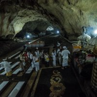 пещерный храм Goa Giri Putri (Гоа Гири Путри) :: Александр