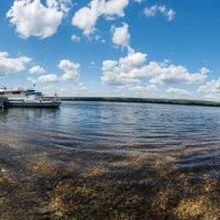 Пристань на Волге :: Yury Petrov