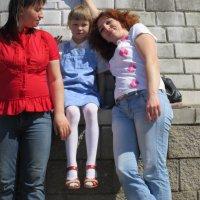 Надя, Лиза и Вера :: Viktor Heronin
