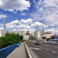 Бранков мост и ул. Бранкова в Белграде :: Денис Кораблёв
