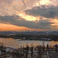 Закат над Днепром :: Free