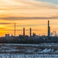 Нефтехимики трудятся :: Любовь Потеряхина