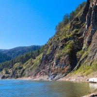Берег реки Мана :: Владимир Веселов