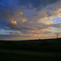Удивительные небеса..( и по небу дракон летел...если включить фантазию) :: Людмила Богданова (Скачко)