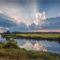 Река Угра... :: Александр Кукринов
