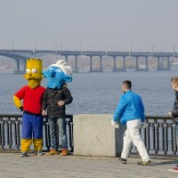 Весна пришла! Прогулка по набережной, Днепропетровск :: Ксения Довгопол