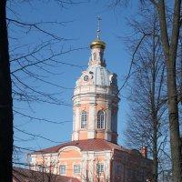 Одна из башен Александро-НевскойЛавры :: Сергей Темников