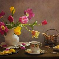 Весеннее чаепитие :: Юлия Эйснер