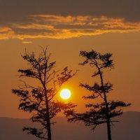 Закат на Байкале 2.2 :: Евгений Ларин