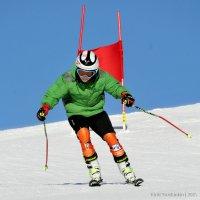 Тренировка на горных лыжах :: Кирилл Трошинкин